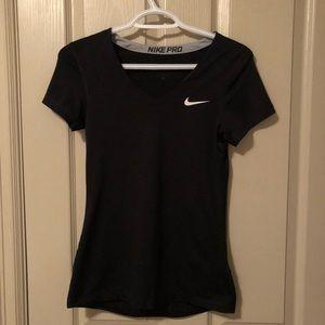 Black Nike Pro Dri-Fit T-Shirt